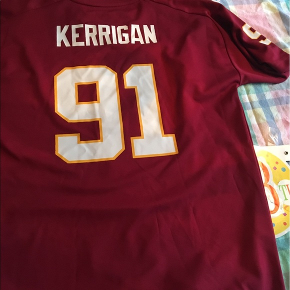 purchase cheap c79c8 f5a9d Ryan Kerrigan Washington Redskins football jersey