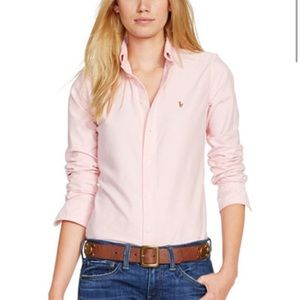 Ralph Lauren Tops - Ladies slim fit Ralph Lauren button down