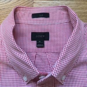 J. Crew Other - Men's Like New J.Crew Red and White Button Down
