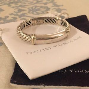 David Yurman Jewelry - DAVID YURMAN 💎RARE💎 Cable Silver & Gold Bracelet
