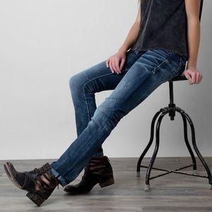 Buckle Denim - NWOT Buckle Black straight jeans NO 146