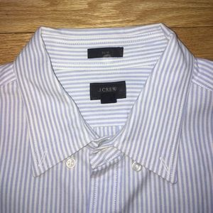 J. Crew Other - Men's Like New Blue Striped J.Crew Button Down