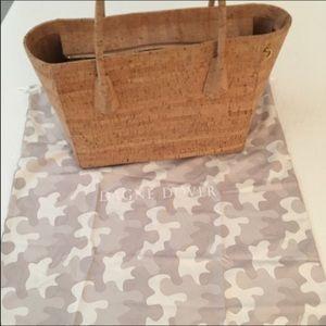 """Dagne Dover Handbags - Dagne Dover 15"""" cork bag"""