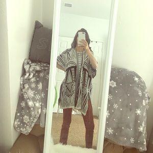 Poncho/kimono!