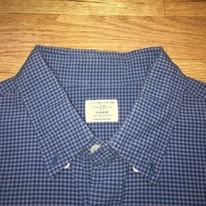 J. Crew Other - Men's Like New Teal and Green J.Crew Button Down