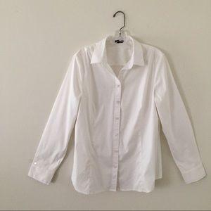 Ann Taylor Tops - Ann Taylor long sleeved button down shirt- Size 16