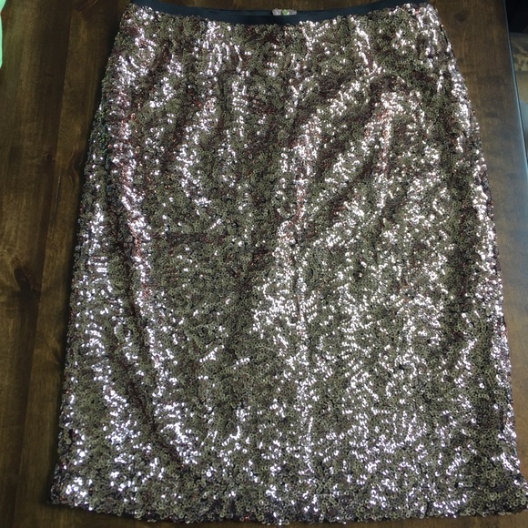 ae39849661 Daniel Cremieux Skirts | Nwt Cremieux Sequin Skirt | Poshmark
