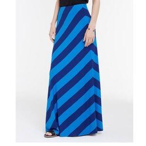 Ann Taylor Dresses & Skirts - Ann Taylor Blue & Bold Striped Skirt (Petite)
