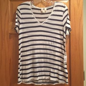 Quiksilver striped shirt. New with tags