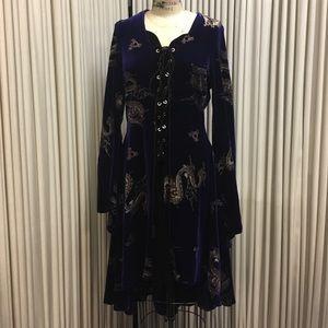 Shrine Dresses & Skirts - Gothic velvet dress