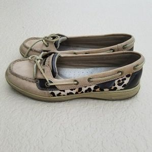 Sperry Top-Sider Shoes - Cheetah Print Sperry Top siders