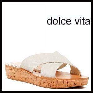 ❗️1-HOUR SALE❗️DOLCE VITA SANDALS Embossed Slides