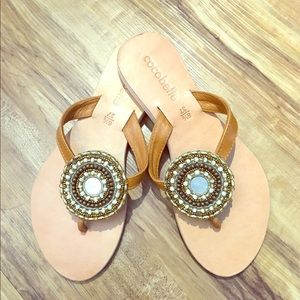 Cocobelle Shoes - Cocbelle Mandalla Beaded Sandal