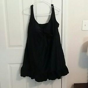 Always For Me Other - Plus size always for me black swim dress