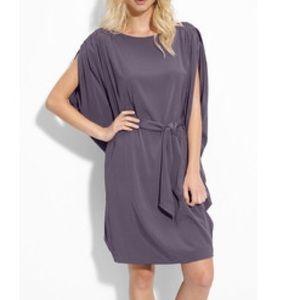 suzi chin Dresses & Skirts - Suzi Chin Maggy Boutique Tie Waist Silk Dress