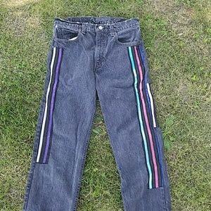 Vintage Denim - Levi's Vintage Decorated Distressed 505 jeans