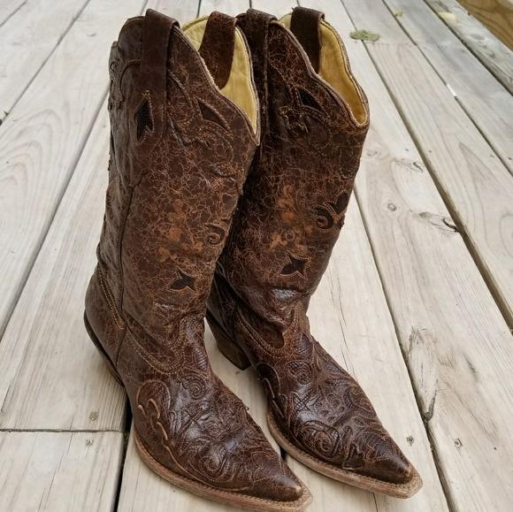 corral lizard boots