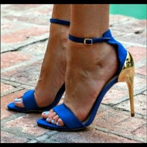 Zara Shoes - Gorgeous Zara Electric Blue Heels w/box ~39