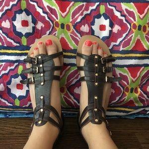 N.Y.L.A. Gladiator Sandals