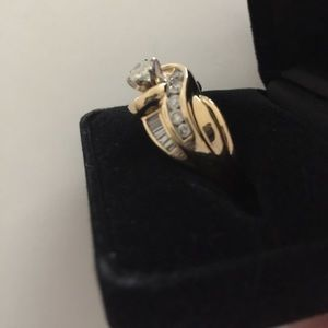 51% off Helzberg Diamonds Jewelry - Wedding Ring 14 kt yellow gold ...