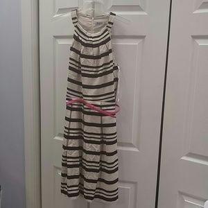 Eliza J Striped Dress size 8