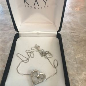 Kay Jewelers Jewelry - Heart necklace by KAY Jewelers. With box