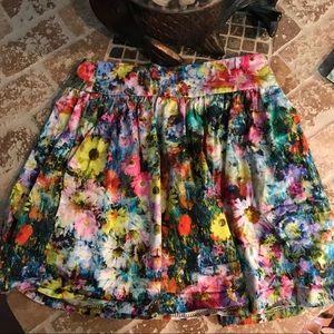 Zara skirt, size S. Pretty and comfy.