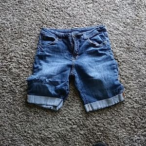 Faded Glory Pants - Denim Shorts