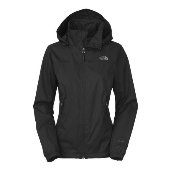 a7613c88121 North Face Black Resolve Plus Rain Jacket