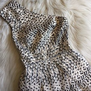 Zimmermann Dresses & Skirts - Zimmermann Metallic One Shoulder Dress