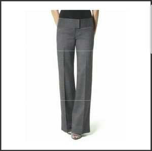 BNWT! WIDE LEG GRAY TROUSERS! PERFECT CURVY FIT!