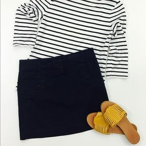 J Crew sailor skirt
