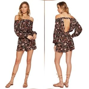 Free People Pants - Free People Off The Shoulder One Piece Romper