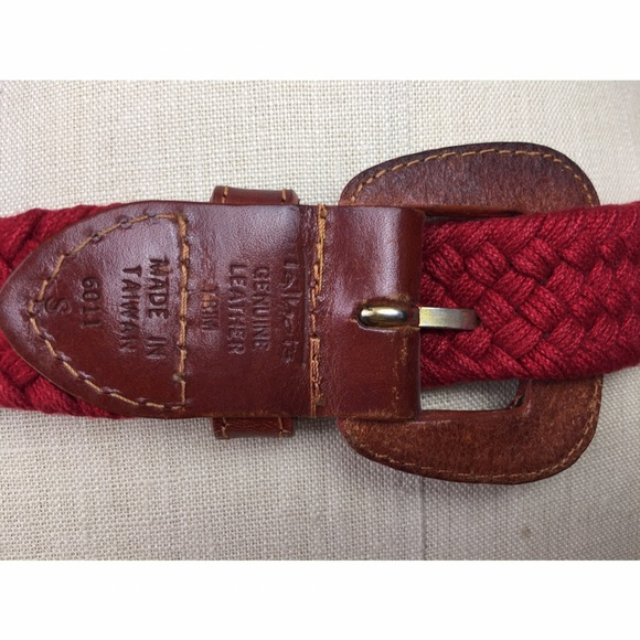 Belts are measured from buckle crossbar to end of the fabric. ~ To measure for your belt run a measuring tape through your belt loops while wearing the pants that you will be wearing with the belts (or use a string and then measure it).