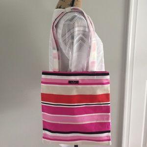 NEW Kate Spade Multi Stripe Shopper Tote Bag 🌸