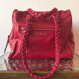 Deena & Ozzy Handbags - Leather red bag!
