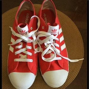 Adidas Red and White FINAL PRICE