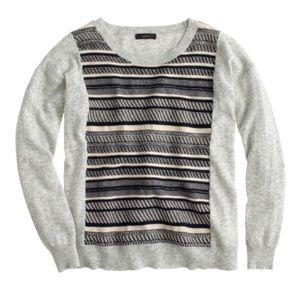 J. Crew Sweaters - J.Crew Textured Stripe Sweater
