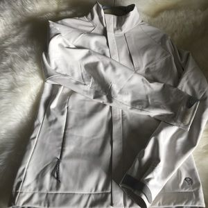 Mountain Hard Wear Jackets & Blazers - Mountain Hardwear Cream Softshell