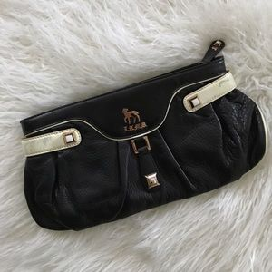 L.A.M.B. Handbags - L.A.M.B. Leather Clutch Handbag Purse Wallet Gwen