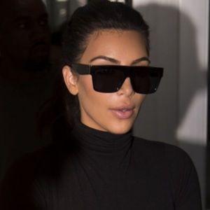 Celine Accessories - Flat topped Celine Black Sunglasses