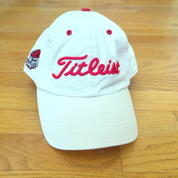 31f9e1ca81a Georgia Bulldogs Titleist Hat - NEW with Tags!