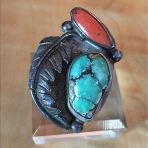 Jewelry - Vintage hand made Native American (Navajo) ring