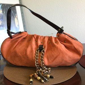 Lulu Handbags - Lulu orange Hobo