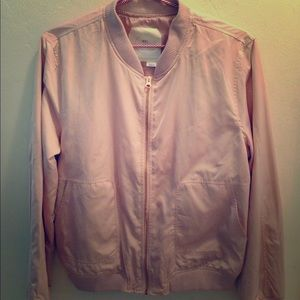Anthro Bomber Jacket size Medium