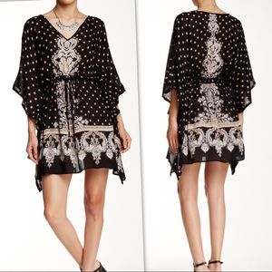 Dresses & Skirts - Border Print Kaftan Dress