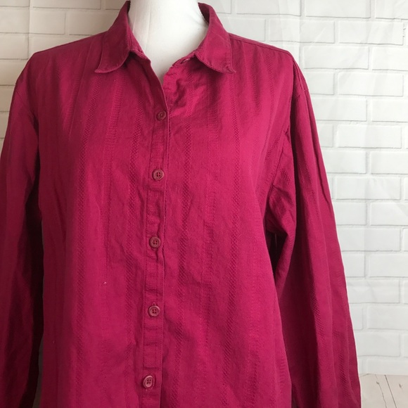 Cabela 39 s cabela 39 s button down shirt hot pink 2xl from for Cabela s columbia shirts