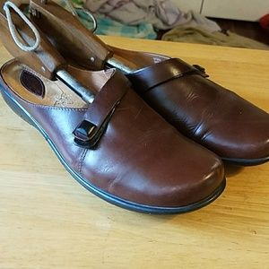 Clarks ladies casual slip on's in size 9.5