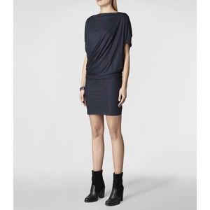 All Saints Dresses & Skirts - ➡AllSaints Heather Blue Pia Jersey Dress⬅