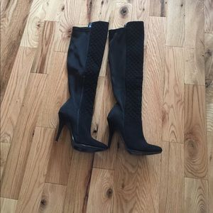 Ann Michell Shoes - Long Elastic Boots